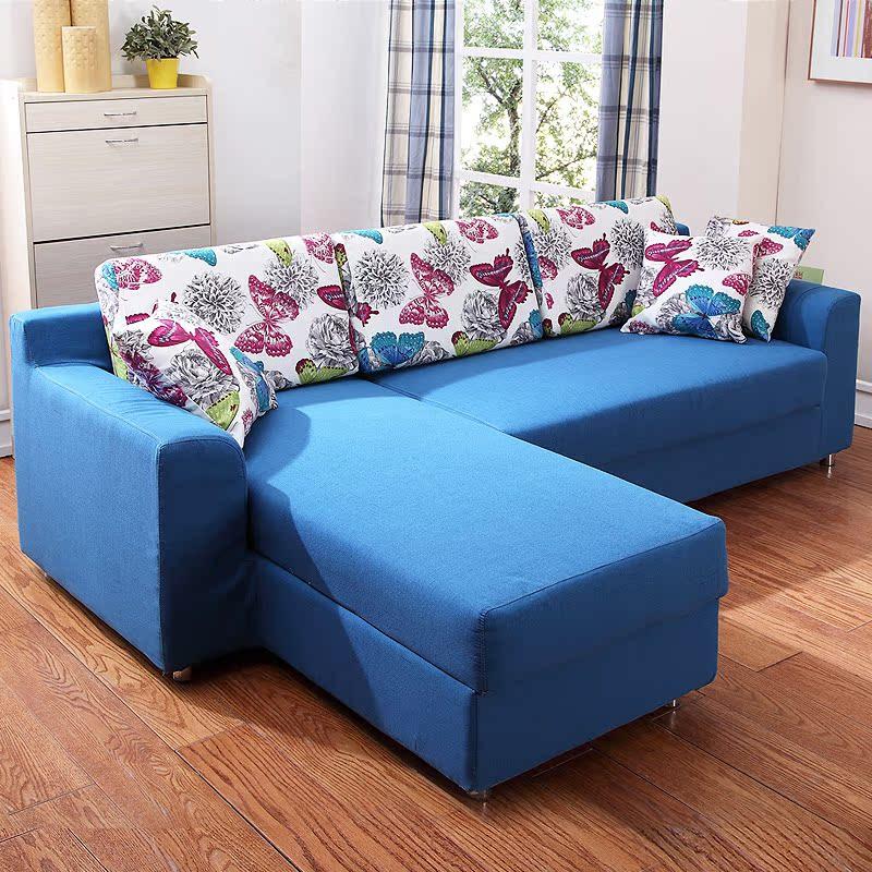 小型タイプで、ソファベッドの3人の組み合わせは、現代シンプルなソファ兼用としてある。