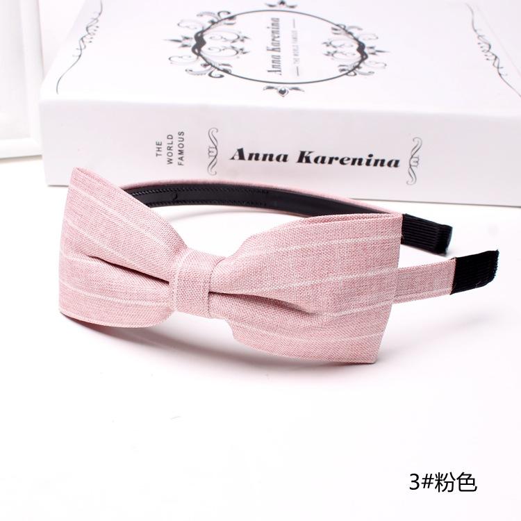 корейский шпилька заколка просто полоса шириной новый галстук - бабочка обруч на голову мыть волосы Джокер головной убор с моды сладкий