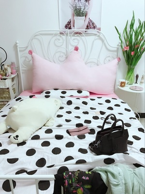 IKEA Аутентичные внутренние покупки Лайл Вик Кровать двуспальная кровать king стойка кованого железа железа Европейский Pastoral железная кровать