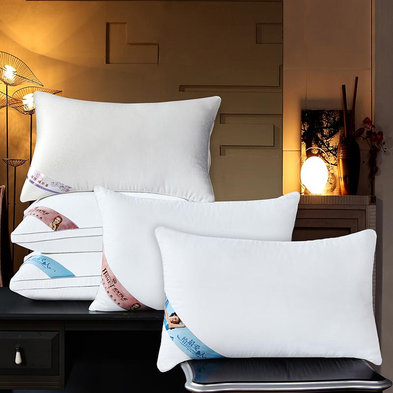 規格品の純綿羽ベルベットホテル白い枕卸売の臼はおじけづいてケツメイシ保健養生護頚ホテル枕