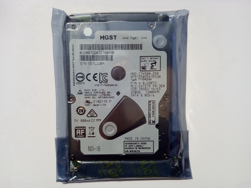 Für neue Original single - CD an veteranen 7mm Hitachi 7200 32M250G 2,5 - Zoll Notebook - festplatten