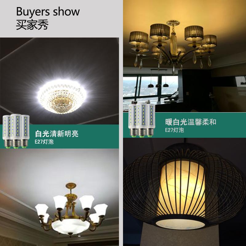 ledde en e27 super smart - lampor för hushållsbruk lågenergilampor skruv vitt ljus ledde inre belysning.