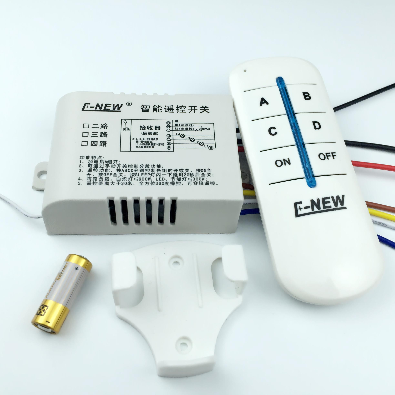 lampe trådløse fire fjernbetjening skift 220v fire led - lyskilde loft opdelt i kontrol af intelligente fjerntliggende registeransvarlige
