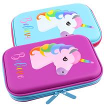 澳洲笔盒女小学生女童文具盒女儿童笔盒大容量3D铅笔盒可爱卡通女