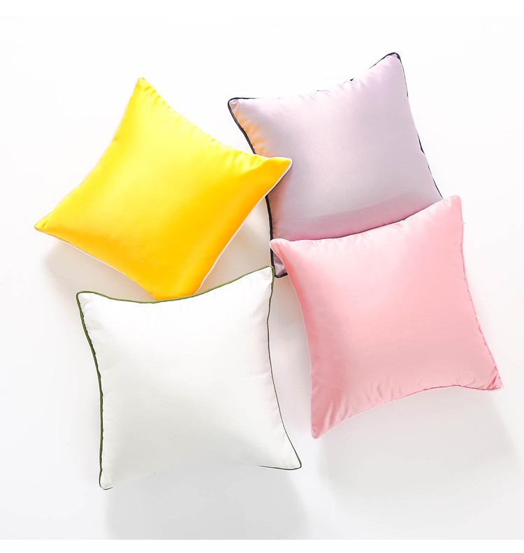 抱き枕カバー糸無地シミュレーションクッションソファイケアベッドに抱き枕の簡明な現代のクッション