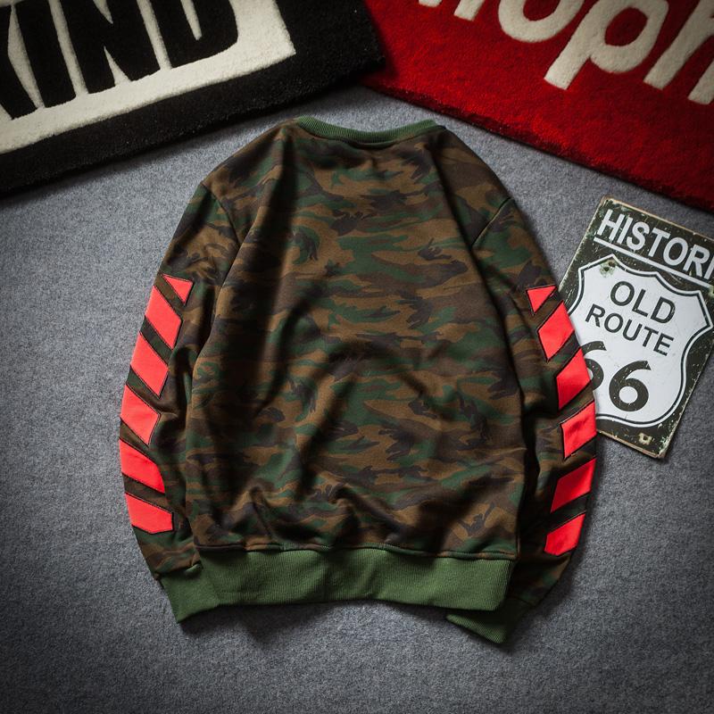 Der neue camo pullover im Herbst 2017 Mann Groß - Reihe ebenfalls eine Jacke Locker - studenten den trend mens