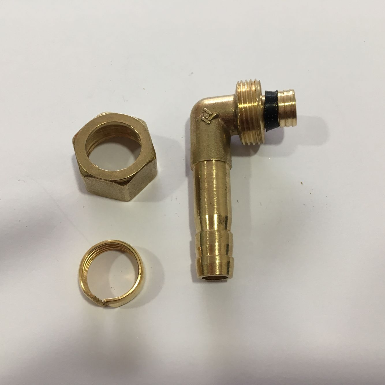 1216 aluminum plastic pipe, gas nozzle, gas pipe, gas, natural gas joint, pagoda gas nozzle, Green head socket, all copper elbow