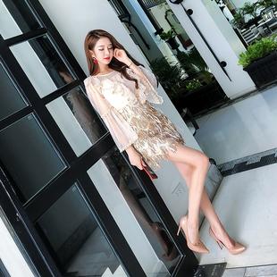 泰国潮牌两件套女2018春装新款女装名媛上衣高腰