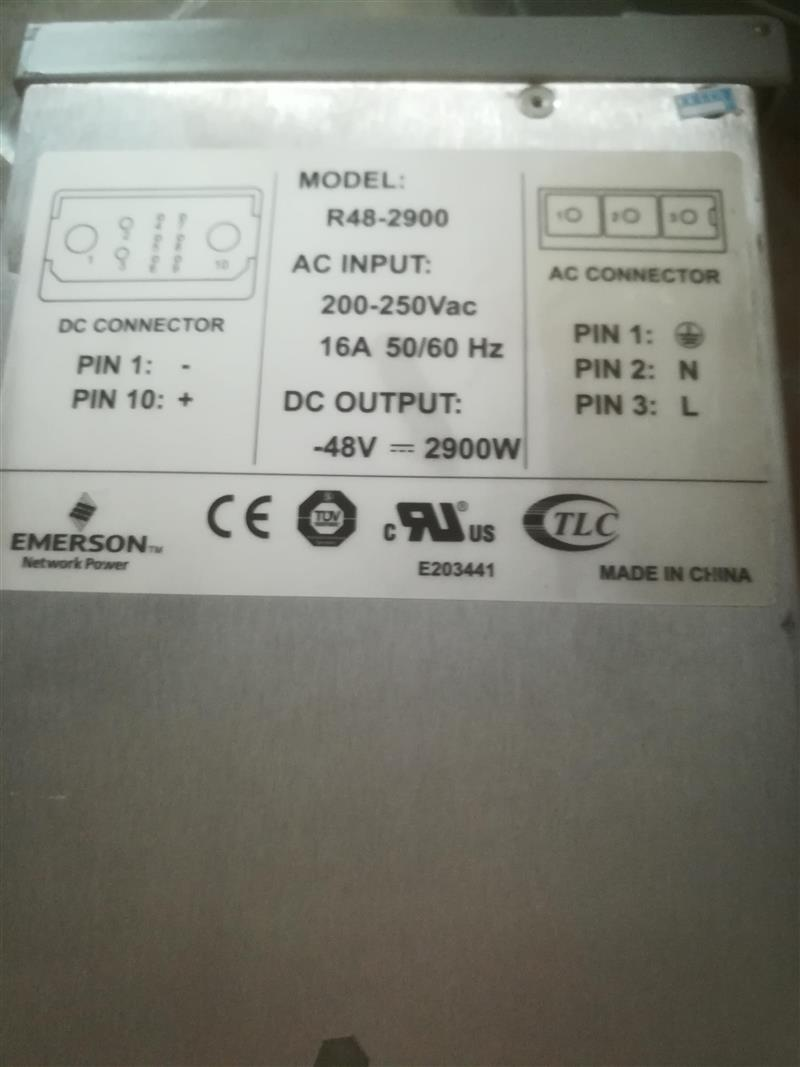 Emerson R48-2900 communication power module