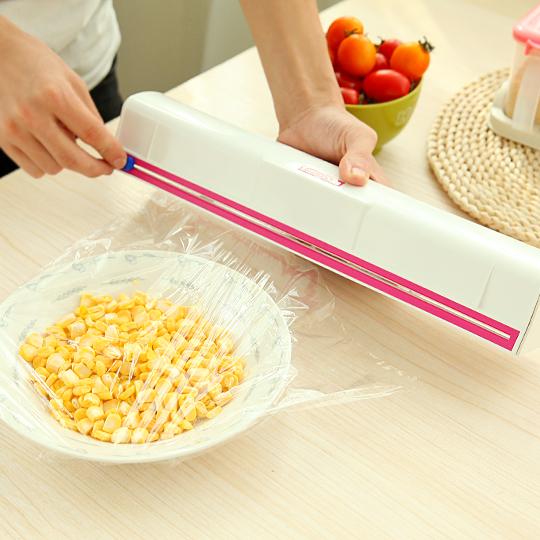 รวมโพสต์สร้างสรรค์ฟิล์มเครื่องตัดใบมีดสแตนเลสเครื่องครัวของใช้ในครัวเรือนพลาสติกห่อกล่องรวมกล่อง