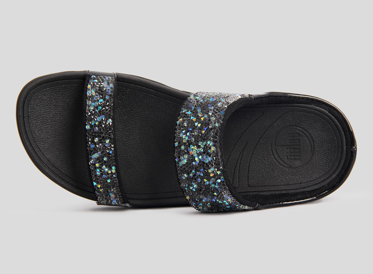 rock chic slide fitflop