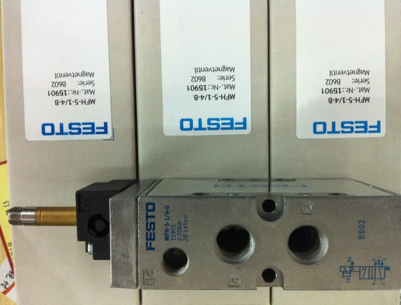 New original FESTOMFH-5-1/4-B electronic directional control valve 15901 (without coil)