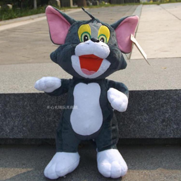 Η γάτα και το ποντίκι κούκλα τομ τζέρι σε ακριβά παιχνίδια τούμπα 80 cm κούκλα κούκλα χριστουγεννιάτικο δώρο