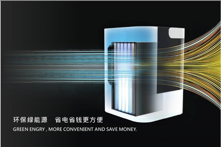 иди на студен въздух за охлаждане на микро - фен на вентилатора се движи с водно охлаждане на малки климатик дистанционно фен на въздух за охлаждане