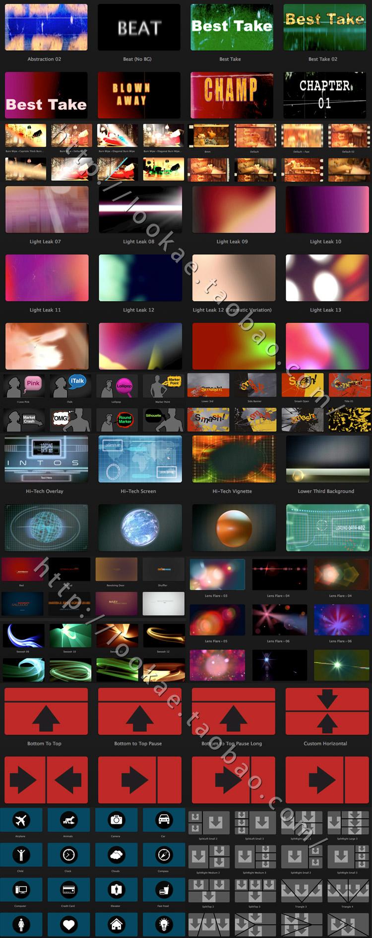 最新完整版:超强视觉特效插件包 FxFactory Pro 5.0.7(苹果系统使用) FCPX 插件-第5张
