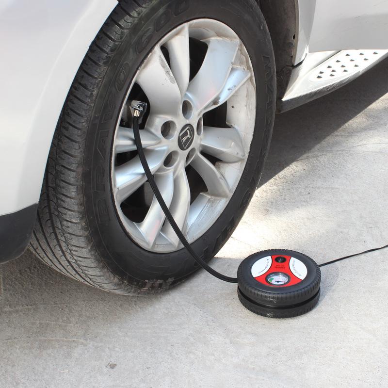 punga de gunoi a vehiculului (pompă de uz casnic cu pneurile vehiculului 220V12V portabile