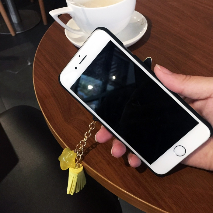 Jin m5plus fringed Star Pendant mobile phone set Jin GN8001L Korea smile shell female creative