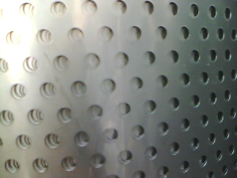 Placa de acero inoxidable 304 / agujero de Administración / placa porosa / panel / red de malla de metal 0.5t * y 5 * 8