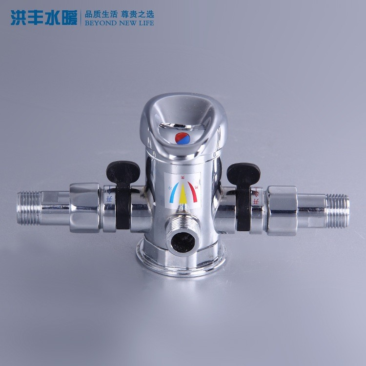 Himin Solar water heater mixing valve flow with the hot and cold shower shower faucet with hose micro
