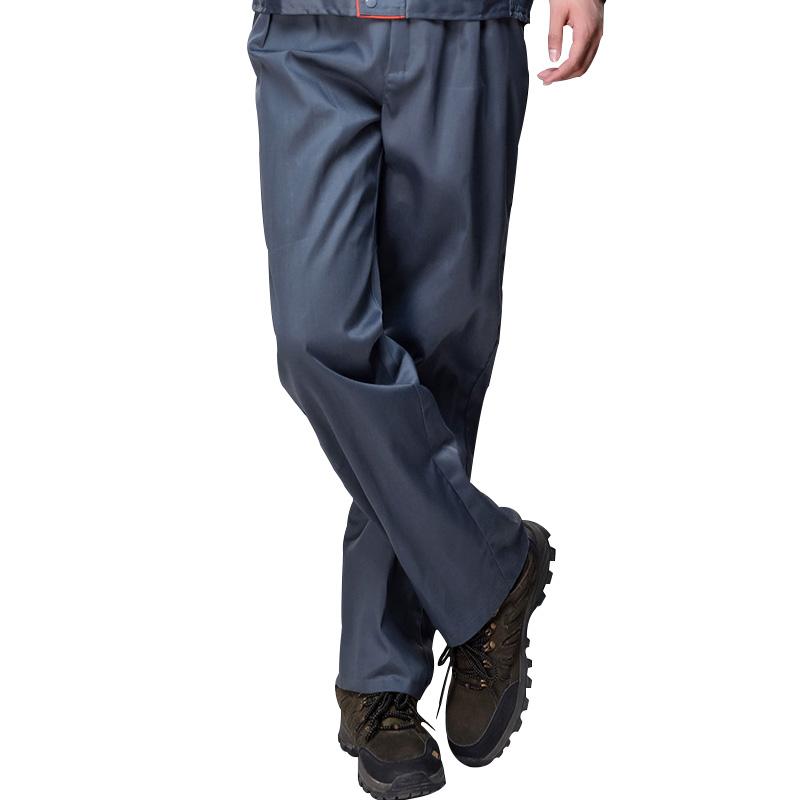 作業服のズボン工装男女耐摩耗夏と秋の自動車修理工場整備に溶接靑労働パンツ包郵