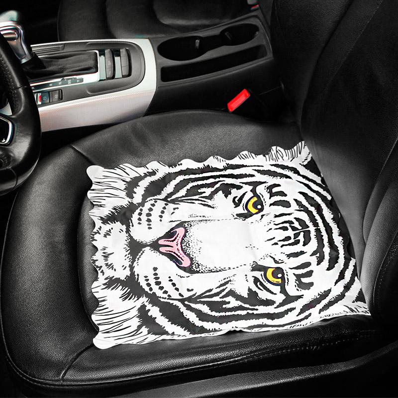 πάγο εδώ το καλοκαίρι ωραίο μαξιλάρι ψύξης μαξιλάρι καρτούν τους ενήλικες το καλοκαίρι στο γραφείο ενός αυτοκινήτου με νερό μαξιλάρι παρακαλώ καθίστε