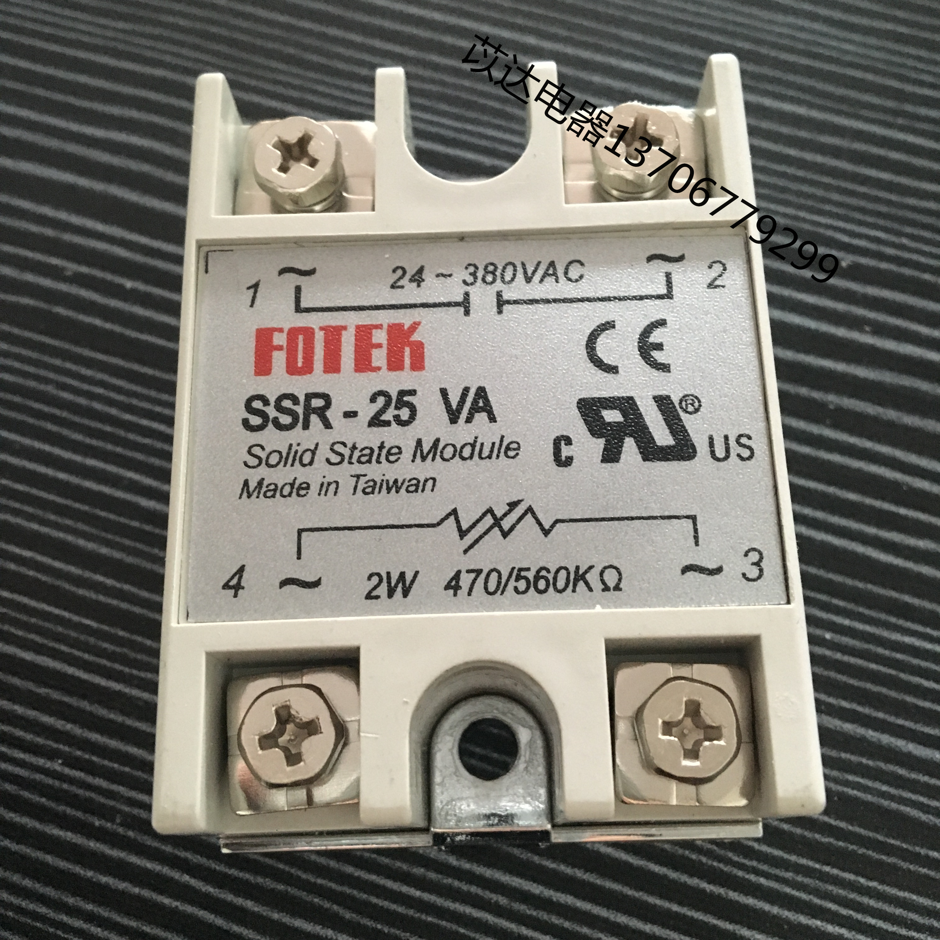 FOTEK yang SSR25VA single din releele de regulator de producătorul de promovare
