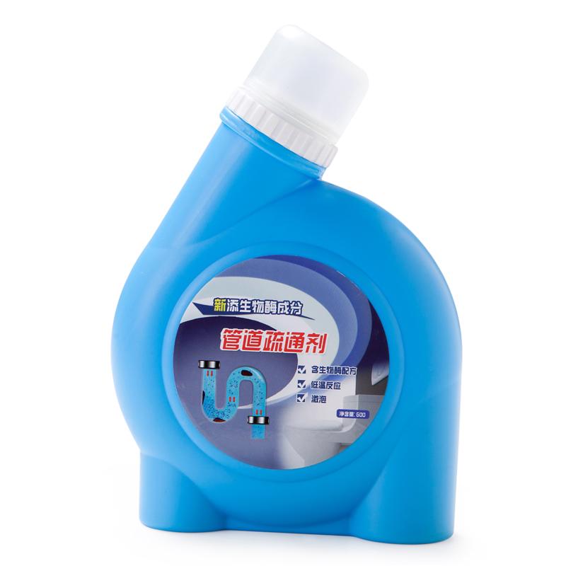 La cocina deboucheur pelo de descomposición de los drenajes de retretes agente limpiador de inodoro y desodorantes.