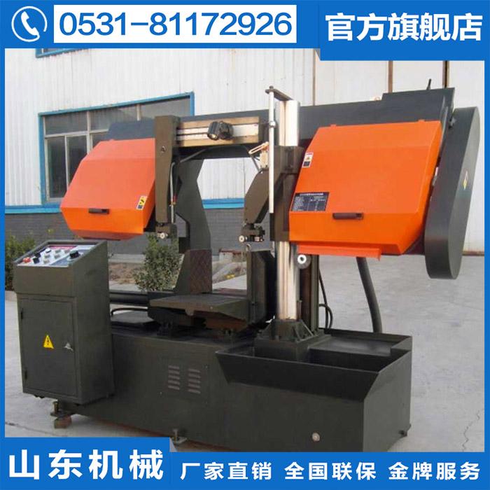 New listing GZ4240 single column manual hydraulic metal band sawing machine, steel cutting power saving machine saw blade