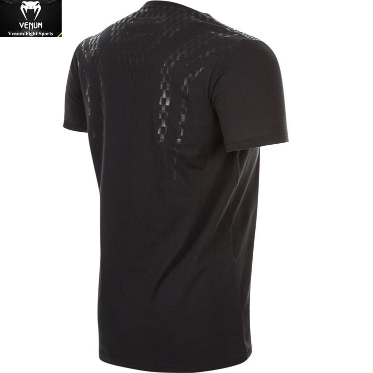 Аутентичные VENUMCARBONIX яд с коротким рукавом спортивной подготовки хлопчатобумажной футболки пальто спортивный досуг