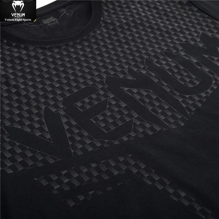 Echte VENUMCARBONIX Gift Baumwolle, kurzärmeliges sportlicher fitness - FREIZEIT - T - shirt.