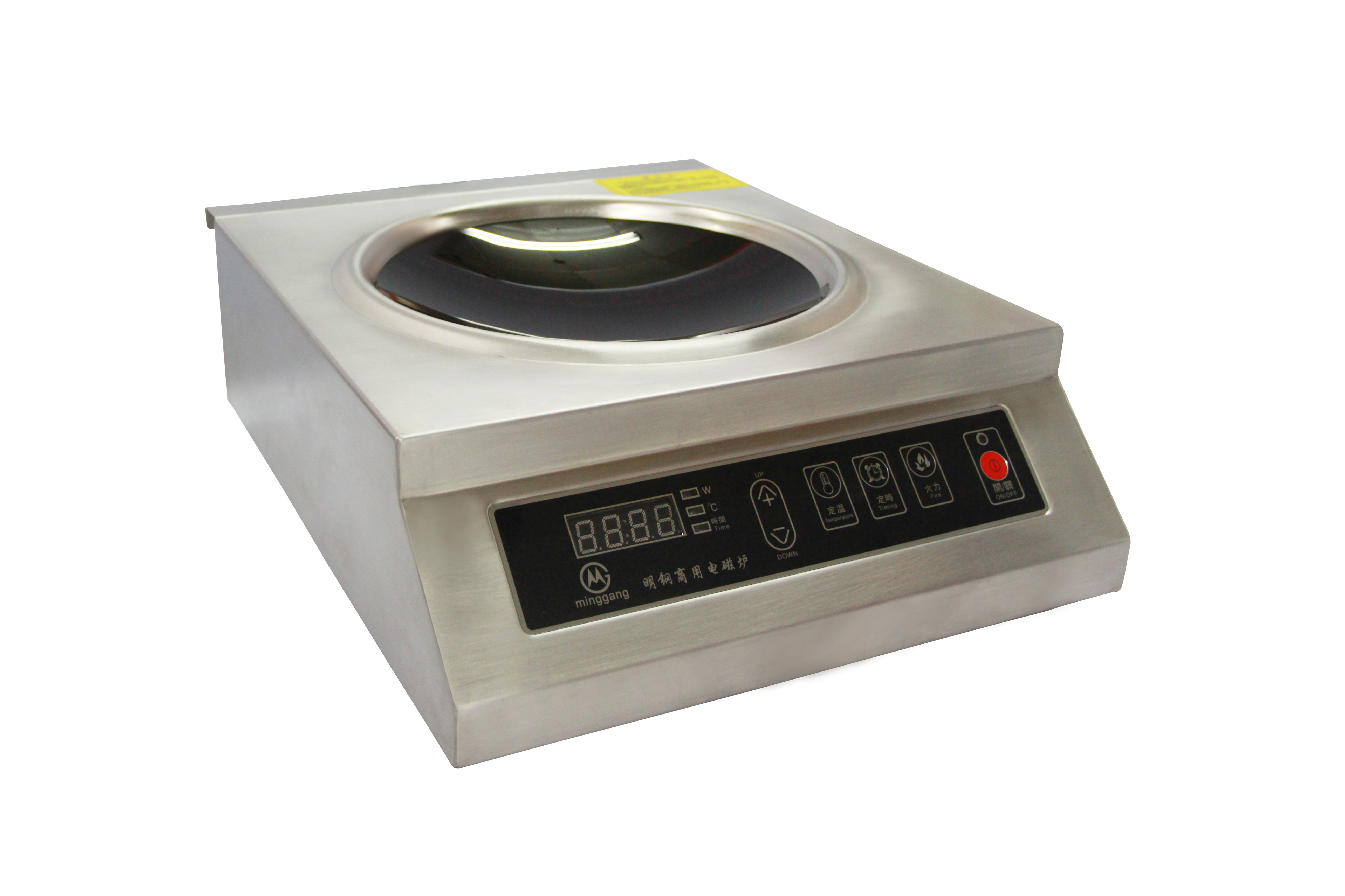 The steel 3500W commercial electromagnetic oven concave high-power electric frying stove to stir the soup restaurant type electromagnetic stove
