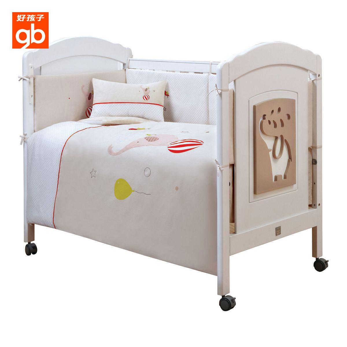良い子の赤ちゃん寝具九点セット綿ベビーベッドベッドを綿赤ちゃん寝具セット