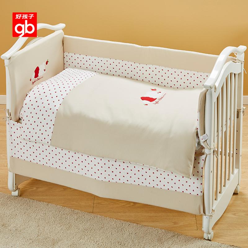 gb良い子夏通気ベビーベッドベッドを四季を通じて児童綿赤ちゃん寝具セット