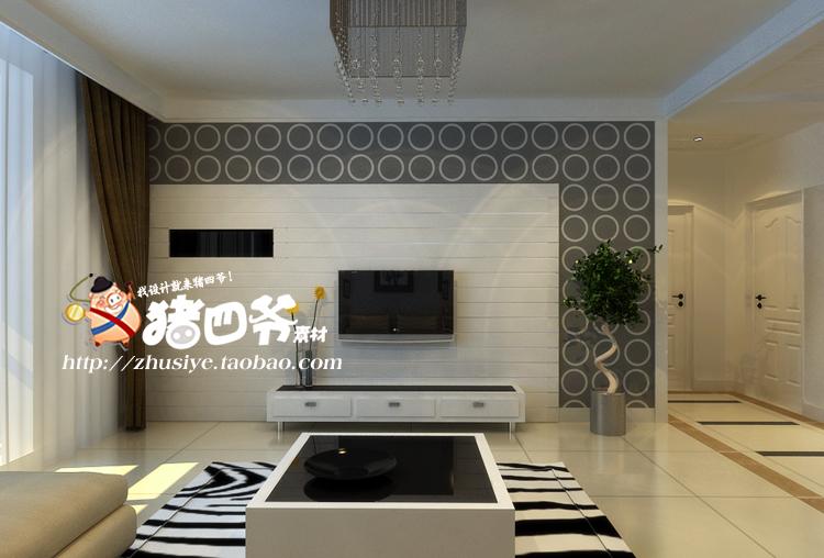 二居室家装装修效果图室内房屋两室一厅两厅小户型吊顶设计图制作