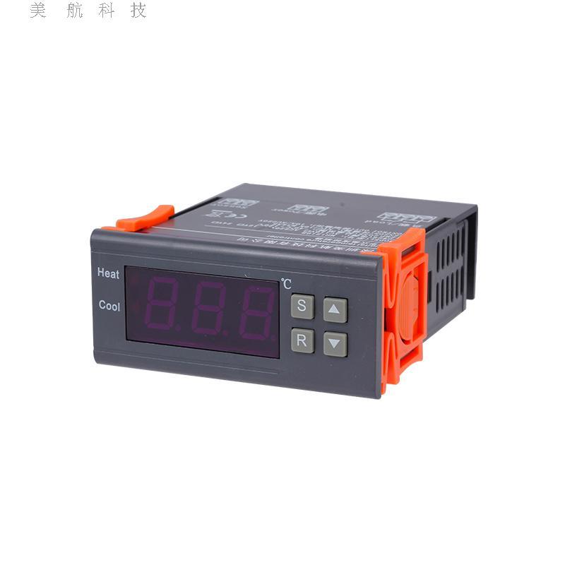 termostat regulatora temperatury termostat elektroniczny sterownik cyfrowy MH1210A regulatora temperatury ogrzewania i chłodzenia