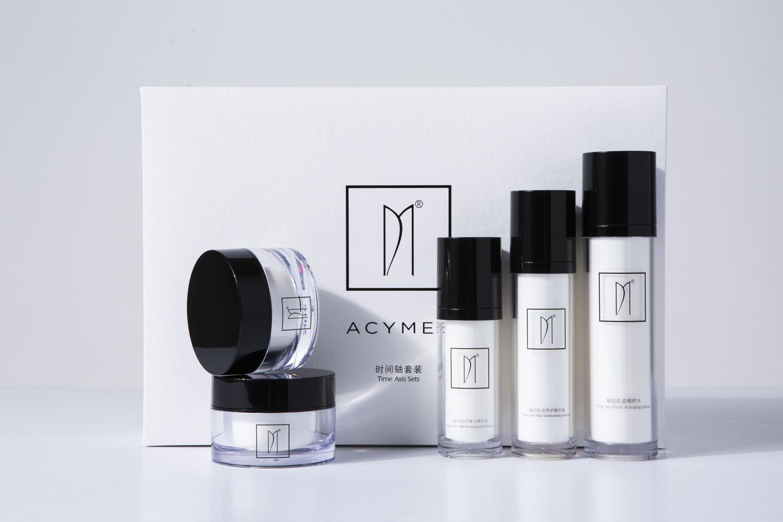 Acymer / Yan Shi US calendrier ensemble de 5 ensembles de produits de soins de la peau combinaison égayer la couleur de la peau irakienne authentique maison