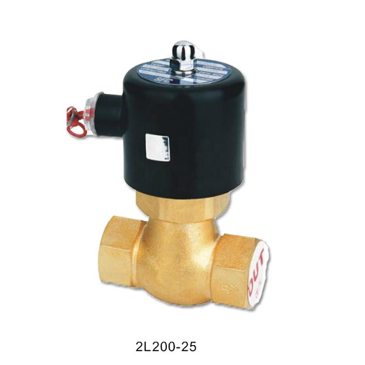 US-25 закрытого типа в 2L200-25 высокой температуры пара электромагнитный клапан электромагнитный клапан полностью меди 1 дюйм