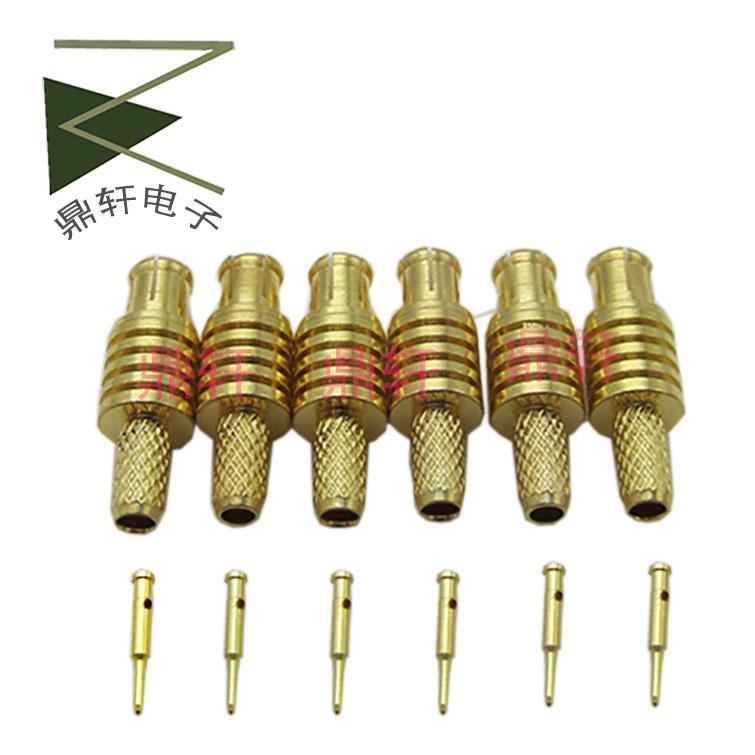 Reines Kupfer MIT kopf MCx männlichen kopf - R316 lineare Draht MIT hochfrequenz - Anschluss