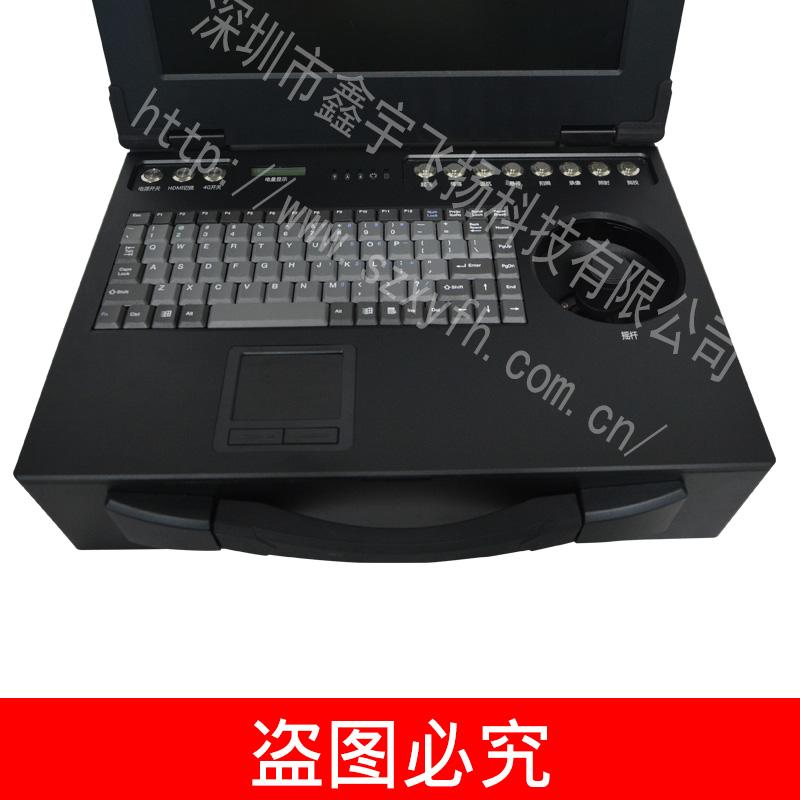 15 см преносим 3u промишлени преносими машина по укрепване на ноутбук компютъра обвивка на военна машина, от алуминий
