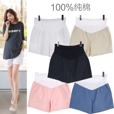 2016孕妇装夏季纯棉宽松托腹孕妇短裤外穿夏装