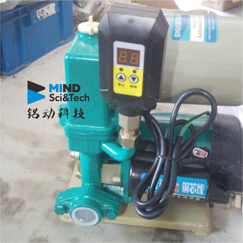 Water pump intelligent digital display controller, water pressure regulating electronic pressure switch, small water shortage protection automatic