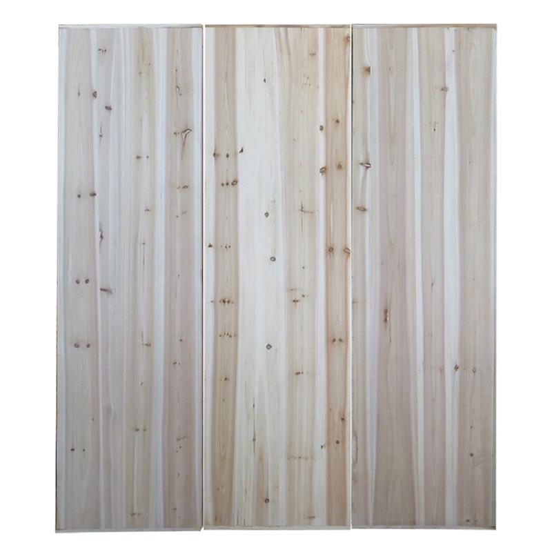 деревянные кровати РПИ сосны статья именно 1,5 метров 1,62 см толщиной 1,8 метров в ширину, размер настраиваемый утолщение