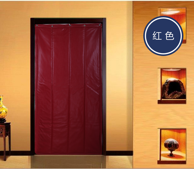 Free shipping! Thickening leather cotton curtain, windproof waterproof cotton door curtain, warm and sound insulation, household cotton door curtain, winter door curtain