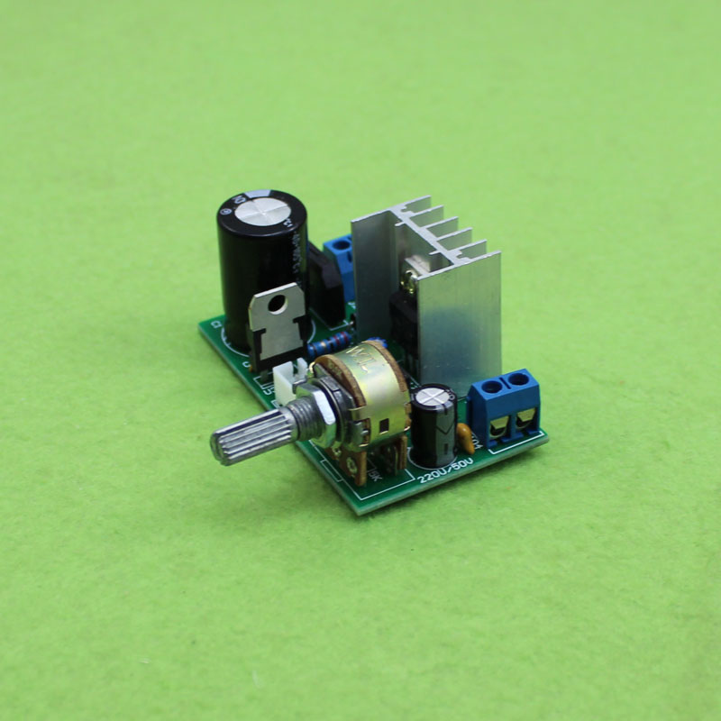 LM317 power board adjusting plate with protective 1.5A1.25V-37V continuous adjustable DC voltage in LM317