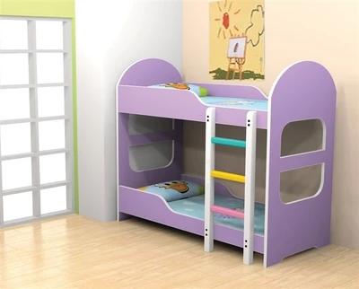 Double bed bed bed for the afternoon kindergarten children on the lower bunk bed bed bed bed special offer