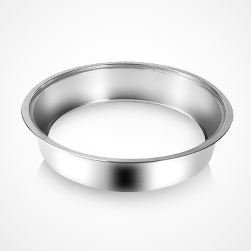 Hot pot electromagnetic stove embedded flat inlaid sinking steel ring square round chafing dish chafing dish table matched stainless steel ring