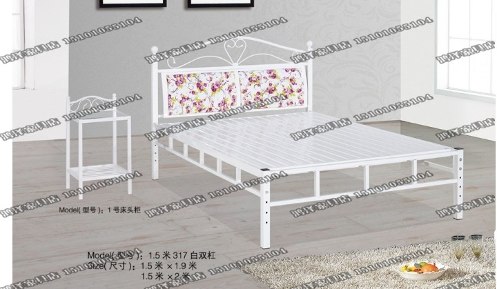 Special offer simple iron bed iron bed double bed a single bed 1.2 meters 1.5 meters 1.8 meters Simmons bed