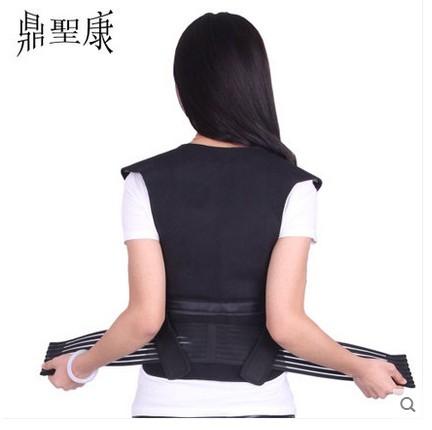 トルマリンは発熱肩掛けシャツベスト護頚肩掛け護背護ベルト保温男女の磁力療法チョッキベスト