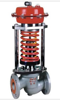 ZZYP cast steel self pressure regulating valve boiler high temperature differential pressure regulating valve relief valve DN100