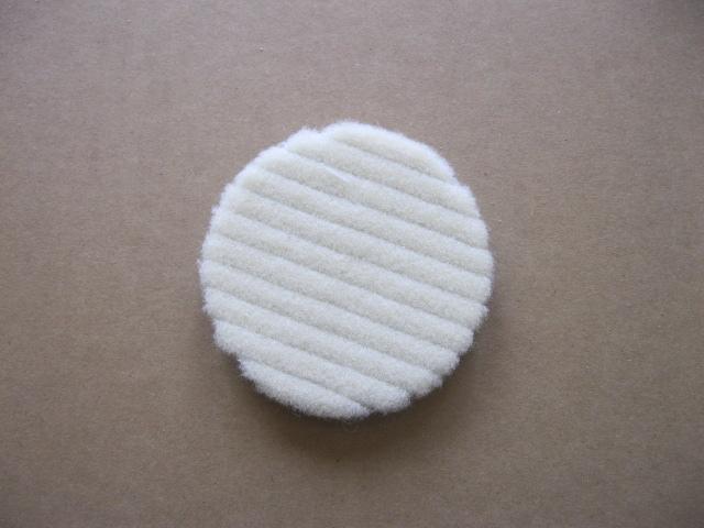 Car waxing beauty polishing 5 hüvelykes japán gyapjú lemez 125mm polírozó öntapadó gyapjú kerek rövid gyapjú polírozó kerék